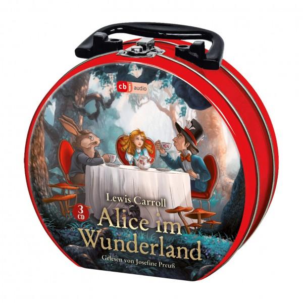 Hörbuch Koffer - ALICE IM WUNDERLAND