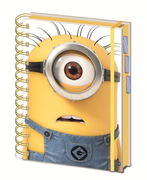 Notizbuch Minions A5 (Ringbuch)