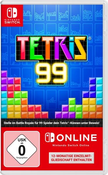 Tetris 99 (inkl. 12 Monate Online-Mitgliedschaft)