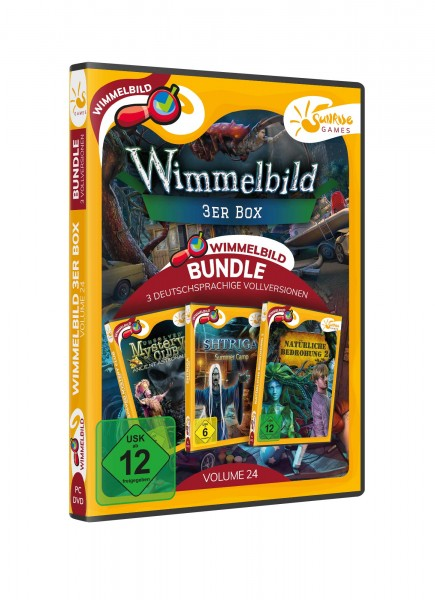 Sunrise Games: Wimmelbild 3er Bundle 24