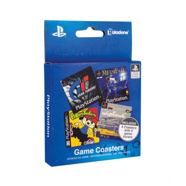 Untersetzer Set Playstation Games