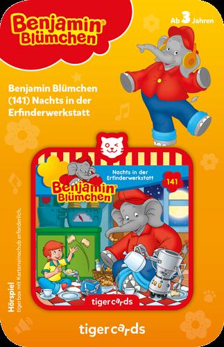 tigercard - Benjamin Blümchen (141): Nachts in der Erfinderwerkstatt