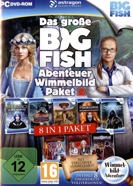 Das große Big Fish Abenteuer Wimmelbild-Paket 2