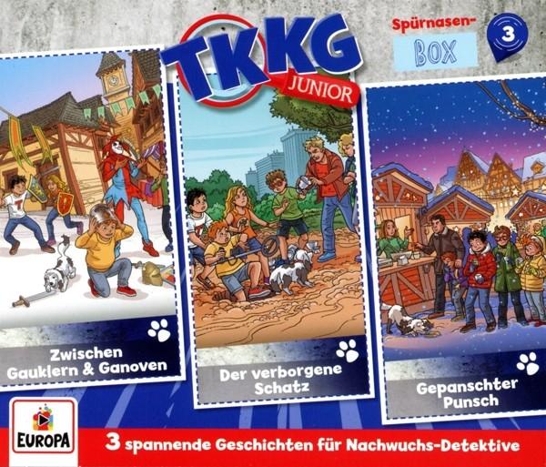 TKKG Junior - Spürnasen-Box 3 (Folgen 7,8,9)