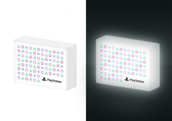 Lampe Light-Box Playstation Symbole