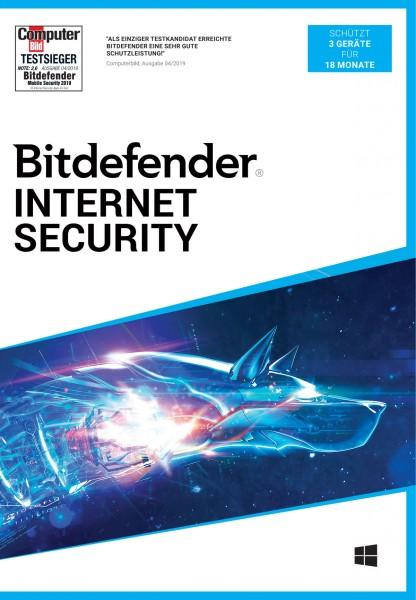 Bitdefender Internet Security 2020 (3 Geräte / 18 Monate)