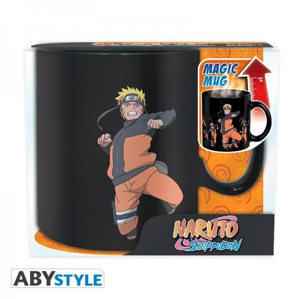 Tasse Naruto Shippuden Multicloning Heat (Thermoeffekt)