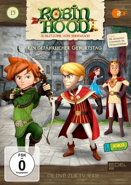 Robin Hood - Schlitzohr von Sherwood - Folge 15 - Ein gefährlicher Geburtstag