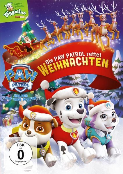 Paw Patrol - Die Paw Patrol rettet Weihnachten - Digital Video Disc