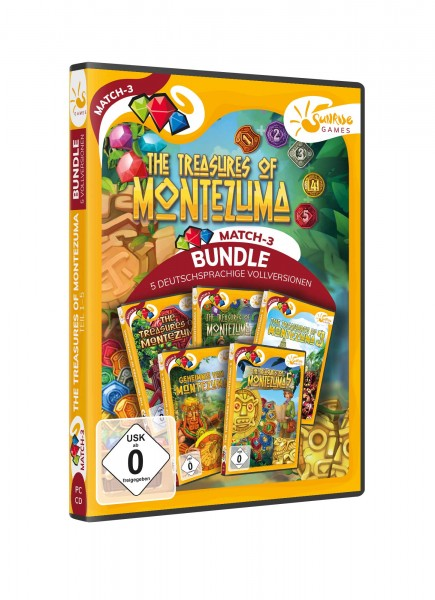 Sunrise Games - Treasures of Montezuma 1-5